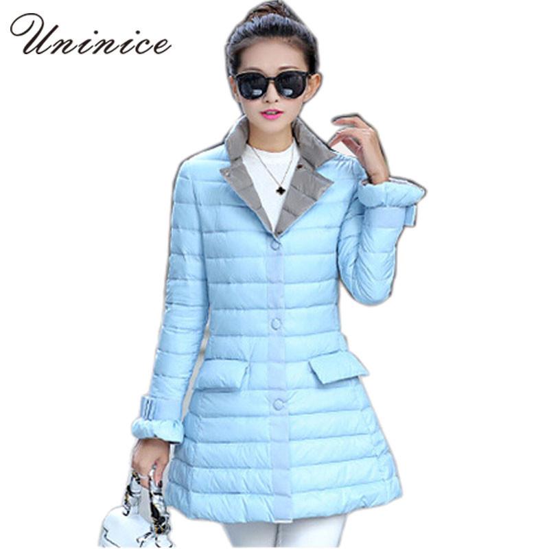 New Winter jacket Womans Outerwear Slim Down Jacket Woman Warm Down Coat Women Light White Duck Down 4E1191Одежда и ак�е��уары<br><br><br>Aliexpress