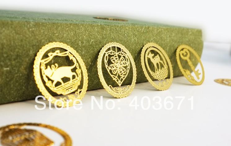 New Creative lace fashion designs Metal Bookmark / Book marks / Wholesale(China (Mainland))
