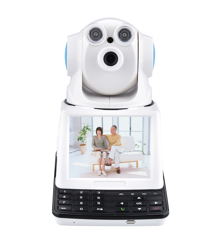 2016 new Mobile Phone Remote Two-Way Conversation Indoor Dome Home IP Cameras p2p security cctv Video Camera with Screen <br><br>Aliexpress