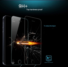 5pcs/lot Best Price Tempered glass screen protector for iphone 5 5S 5C 2.5D Arc edge 0.3mm thickness 9H free shipping