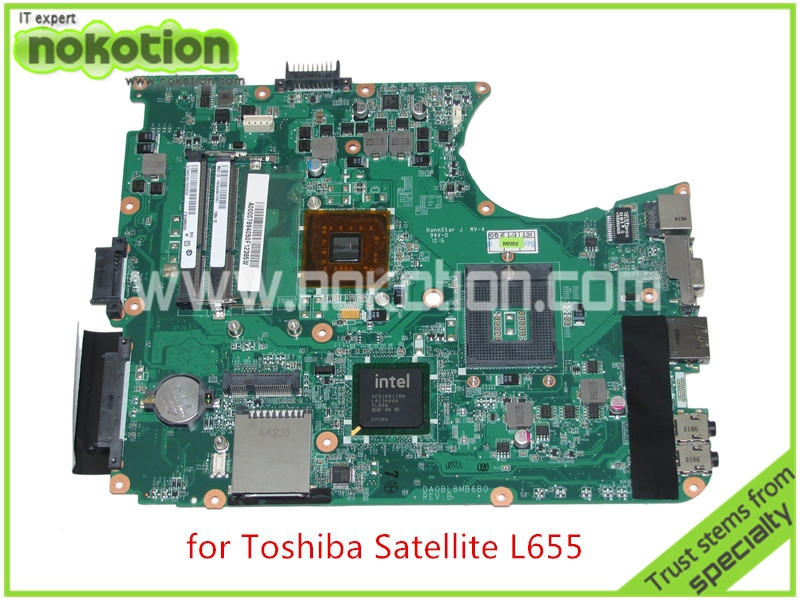 laptop motherboard for toshiba satellite L655 A000078940 DA0BL8MB6B0 REV B GL40 DDR3(China (Mainland))