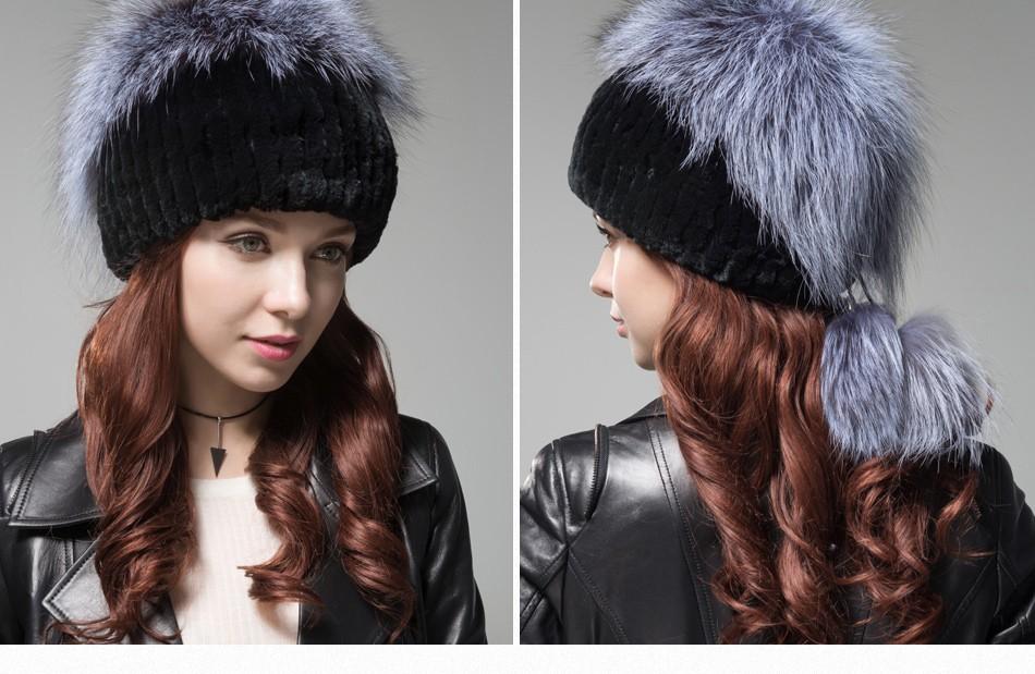 fur hat female winter PCM006 (26)