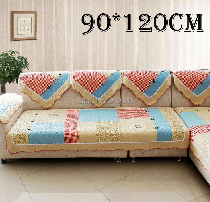 2014 NEW Korean style bowknot sofa cushion best sell 100% cotton sofa seating mat soft sofa towel-90*120cm window mat yoga mat(China (Mainland))