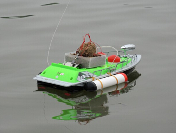Rc boat bait fishing boat china 260 m fishing rod boat for Rc boat fishing