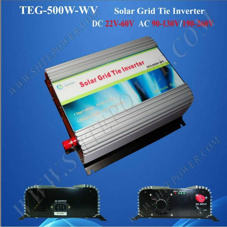 Excellent 500w solar power on grid tie inverter 24v 220v(China (Mainland))