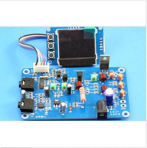 12V DIY kit Digital LED Radio Station 7W PLL Stereo FM Transmitter 76M-108MHz(China (Mainland))