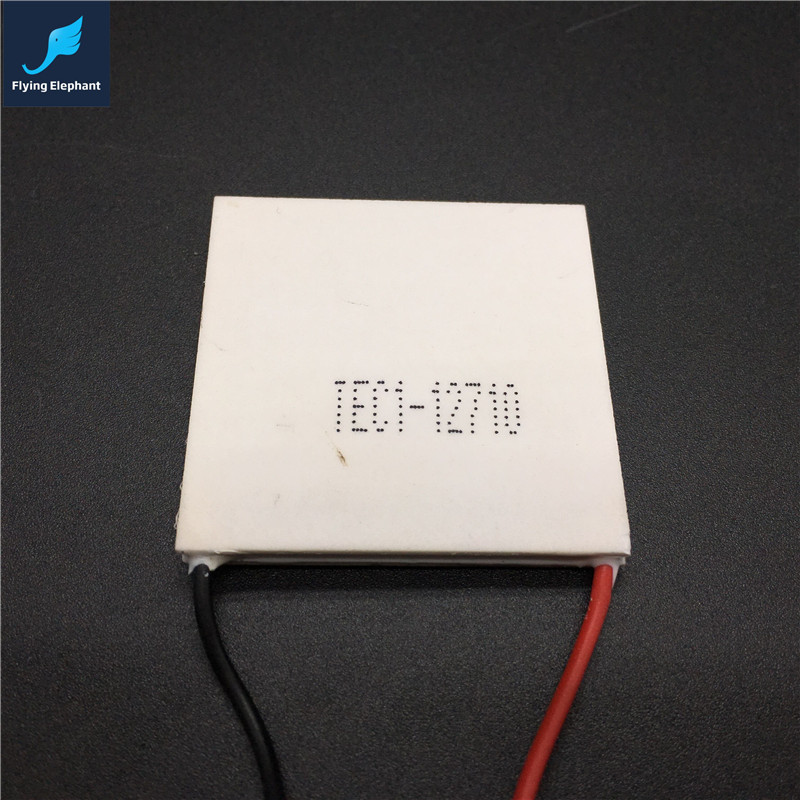 TEC Thermoelectric Cooler , 40*40*3.2mm thermoelectric module For Computer CPU & GPU water cooling block - TEC1-12710(China (Mainland))