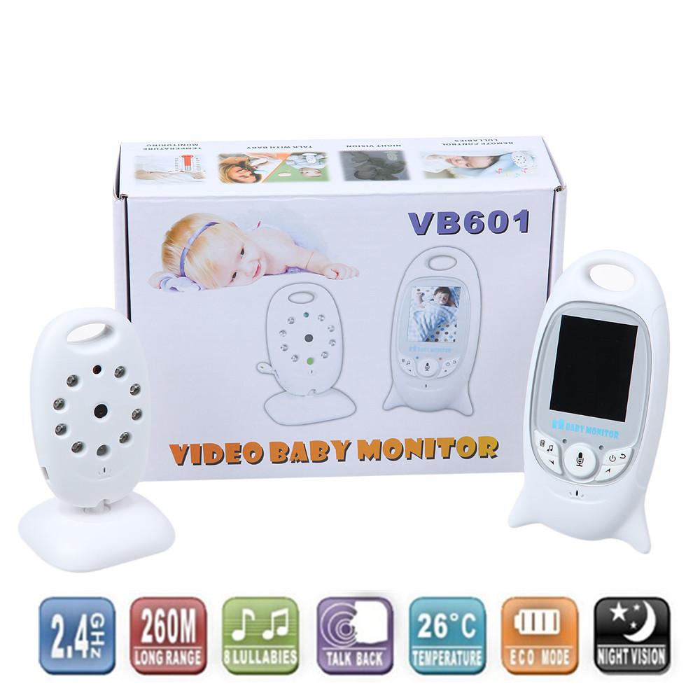 Infant 2.4 GHz Wireles Baby Radio Babysitter Digital Video Baby Monitor Audio Night Vision Music Temperature Display Radio Nanny(China (Mainland))