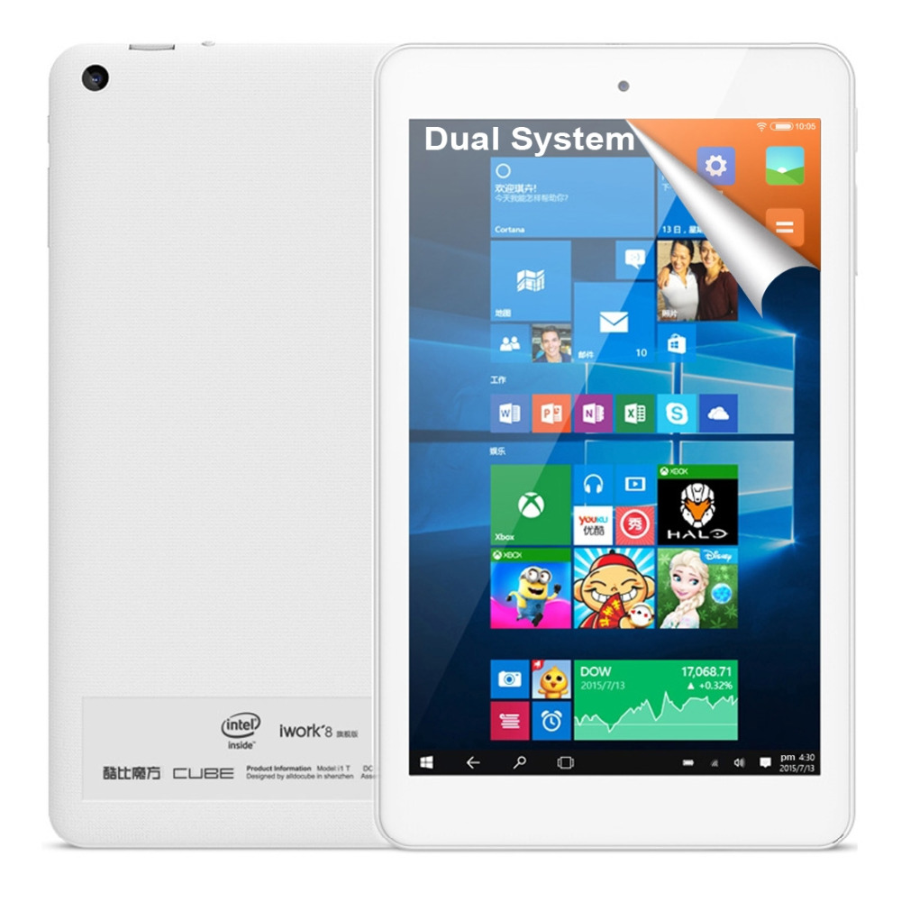Original Cube iwork8 Ultimate Intel Cherry Trail Z8300 Quad Core 8 inch Windows 10 &amp; Android 5.1 Dual Boot 2GB + 32GB Tablet PC<br><br>Aliexpress