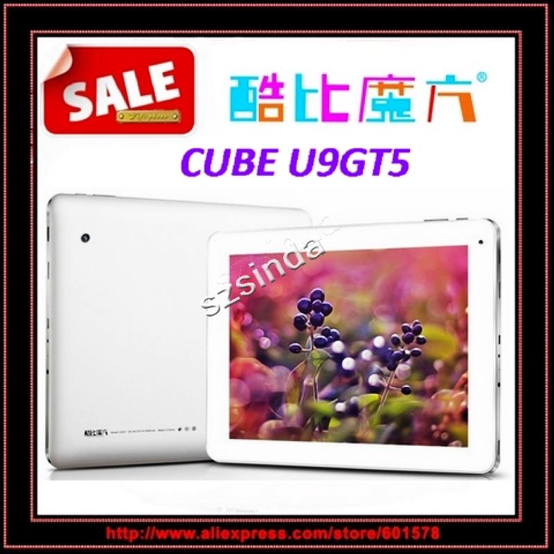 Cube U9GT5 Quad Core tablet RK3188 1.6GHz 9.7inch Retina Screen 2GB RAM 16GB ROM Android 4.1 Dual Camera tablet pc / Anna(Hong Kong)