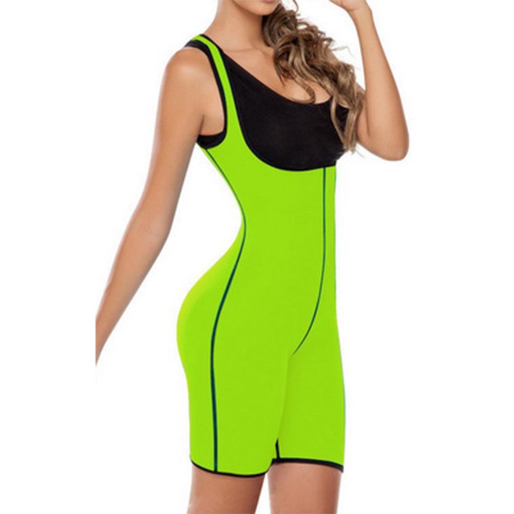Hot New Fashion Women Bodyshaped Fittness Jumpsuits Sexy Woman U-neck Sleeveless Pullover Corset Jumpsuit Body Shapewear(China (Mainland))