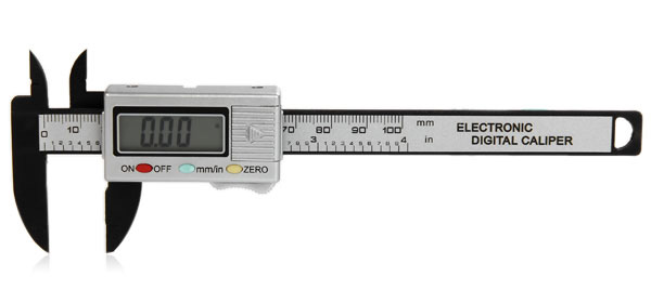 Precision 100mm Vernier Calipers Electronic Digital LCD Plastic Caliper Micrometer Minimum Scale
