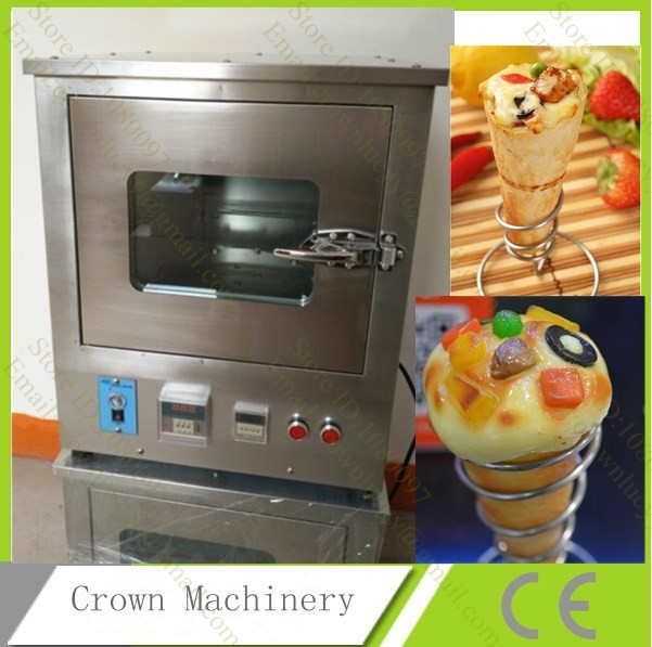 Commercial stainless steel rotating cone pizza oven, high efficiency pizza oven(China (Mainland))