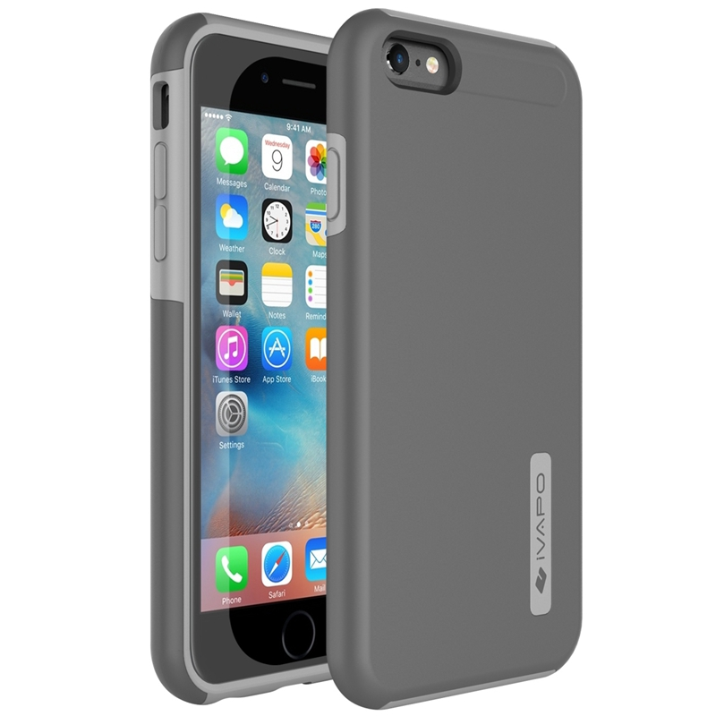 Luxury Tough Ultra Slim Armor Case For iphone 6S 4.7 inch PC+TPU Hybrid Phone Back Cover For Apple iphone 6S(China (Mainland))