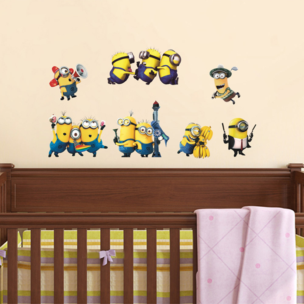Minion Bedroom Wallpaper Minions Bedroom Decor