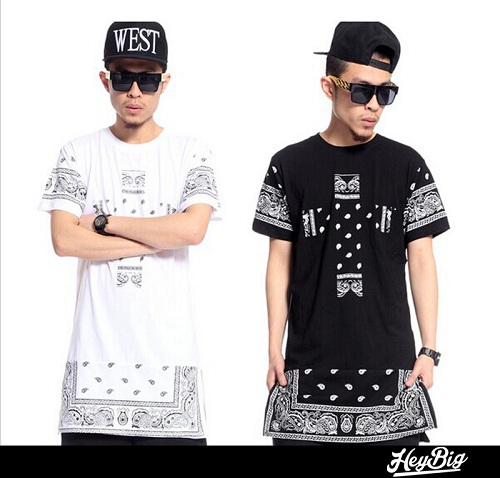 Extra long tee shirts for men promotion online shopping for Wiz khalifa long sleeve shirts
