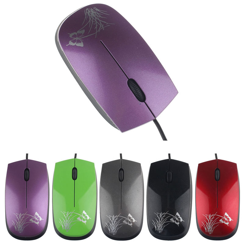 2015 2014 New Fashion USB 2.0 Wired Mini Optical LED Mouse For PC and Laptop ComputersKimisohand(China (Mainland))