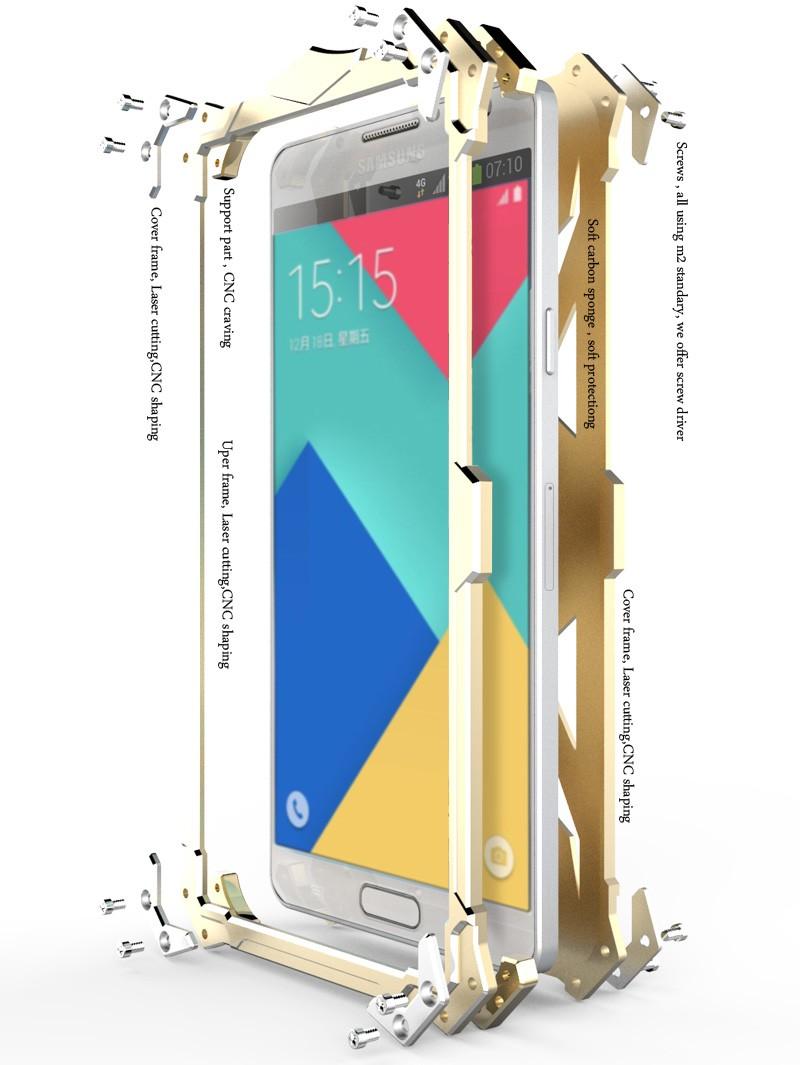 Case For LG V10 Brand Thor Luxury Heavy Duty Armor Metal Aluminum protect Case Mobile Phone Back Cover bag For LG V10 cases h968