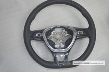 OEM MFSW Multifunctional Steering Wheel with Plectrum Pick Piano Black for VW Golf 7 mk7(China (Mainland))