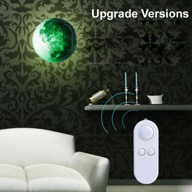 Led Moon Night Lights Kids Novelty Bedroom Wireless Wall