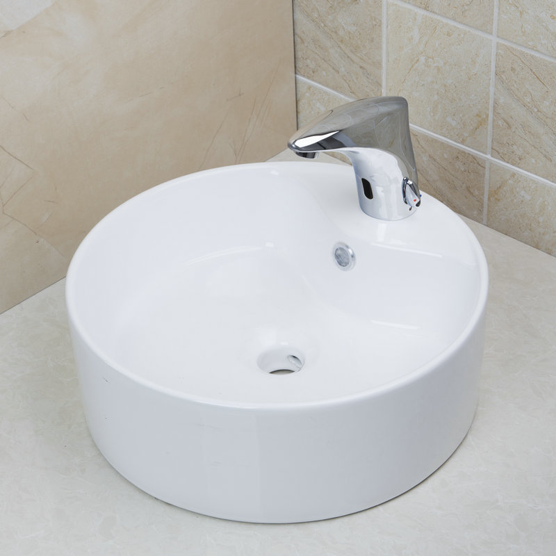Round Bathroom Sink Bowls : ... Round Bathroom Sinks TD3025-in Bathroom Sinks from Home Improvement on