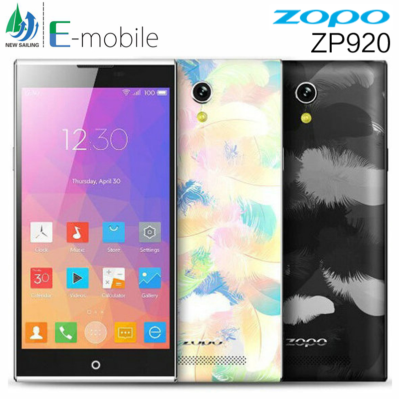 "Original ZOPO ZP920 LTE 4G Mobile Phone MTK6752 Octa Core 5.2"" 1920x1080 IPS 2GB RAM 16GB ROM Android 4.4 13.2MP Google Play GPS(China (Mainland))"