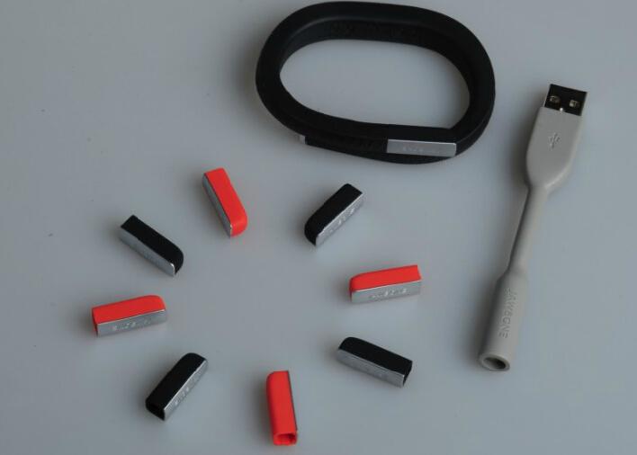 Orange Black For Jawbone UP24 Bracelet Accessories 2Pcs Cover Hat + 1Pcs USB Charging Data Cable