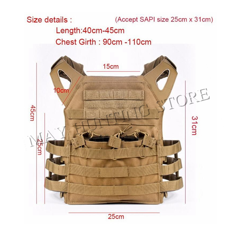 Tactical JPC Plate Carrier Vest Ammo Magazine Body Armor Rig Airsoft Paintball Gear Loading Bear System Army Hunting Clothes(China (Mainland))