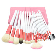 Fashion beauty Products professional Women makeup brush sets 20 pcs elegant Pink Maquillage maquillaje trucco maquiagem