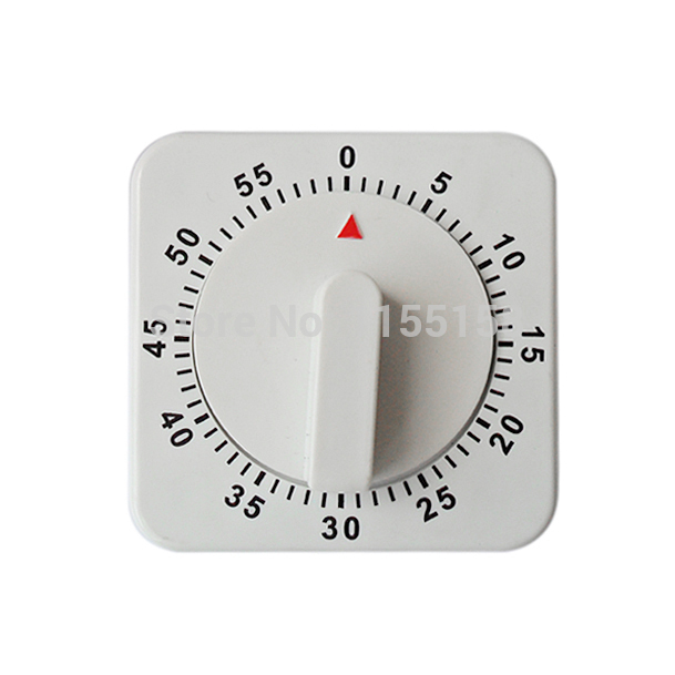 1pcs 2014 new Square 60 Minute Mechanical Count Down Kitchen Timer Cooking Food Alarm T-east T1160 P(China (Mainland))