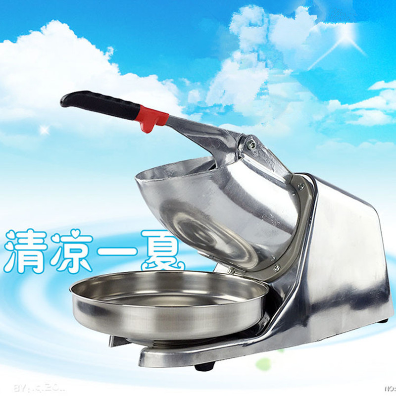 2016 new generation powerful 220v electric ice crusher summer home use milk tea shop drink small commercial ice sand machine ZF(China (Mainland))