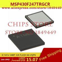 Smart Electronics Integrated Circuit MSP430F247TRGCR IC MCU 16BIT 32K FLASH 64-VQFN 430F247 MSP430F247 3P - Chips Store store