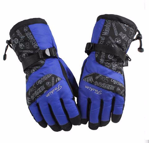 4GLV897 wholesale outdoor wind proof warm winter gloves climb mountain motorcycle thickening ski gloves