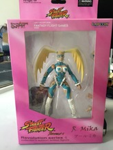 CAPCOM Street Fighter Revolution series 1 R.Mika 7'' action figure(China (Mainland))