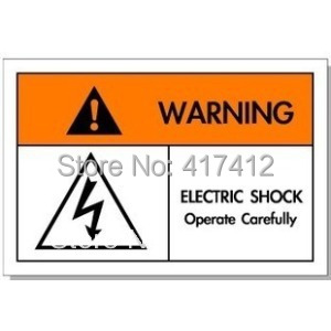 Security marked security warning labels mechanical Logo Lightning logo signs warranty sticker colour paper glowing stickers(China (Mainland))