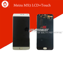 New White Original 5.5″ Inch Meizu MX5 LCD Display+Touch Screen Digitizer Glass For Meizu MX5 MTK6795 Full Assembly Repartment