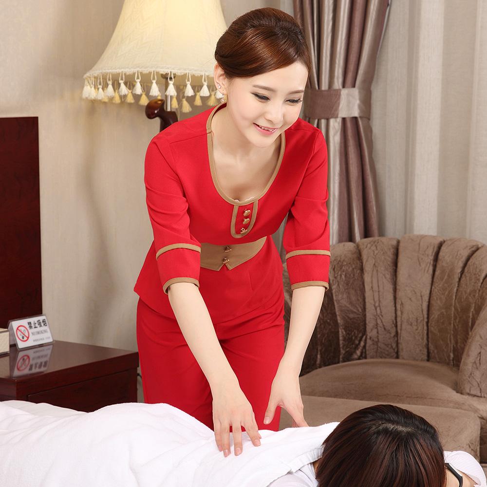 Popular cheap beauty uniforms buy cheap cheap beauty for Spa uniform china
