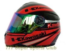 Kawasaki Brand Motorcycle Full Face Helmet Motorbike Helmets Motocicleta Capacete Casco(China (Mainland))