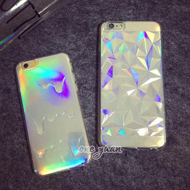 Case iPhone 5/5S/6/6S/6Plus/6SPlus Hologram Bling różne wzory