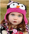 6 Color Best Price - Handmade Knitted Crochet Baby Hat Owl Hat with Ear Flap Baby Winter Cap Free Shipping Christmas Gift TM005