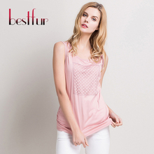 Fashion Brand New Ladies Sleeveless Bodycon Temperament Lace Hollow Out T-shirt Vests Poplin Silk Tank Top Women Vest Tops(China (Mainland))