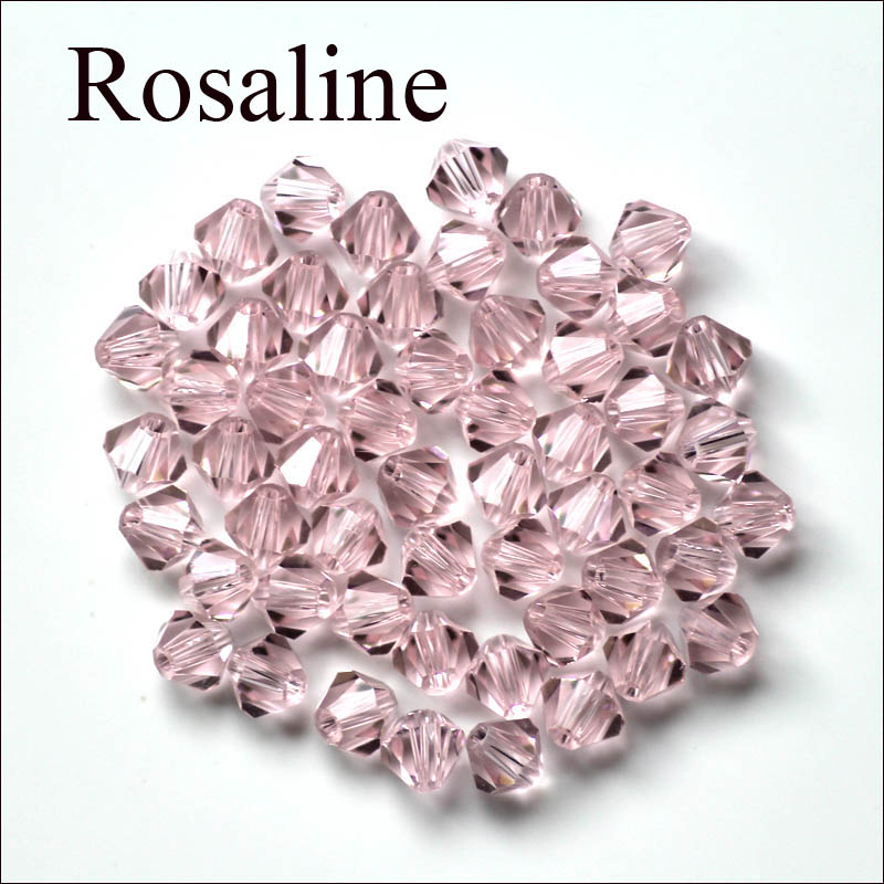 150pcs 4mm Bicone Austria Crystal Beads Loose Beads Jewelry Making Faceted Bulk Price 12 Colors For Choice(China (Mainland))