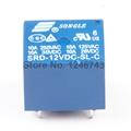 10PCS 12V DC Power Relay SRD 12VDC SL C PCB Type