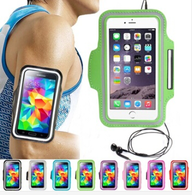 Popular Workout Sport Arm Band Waterproof Leather Case for Elephone g6 g4 g4c 5.0 inch Fashion Cute Candy Colors Phone Cover(China (Mainland))