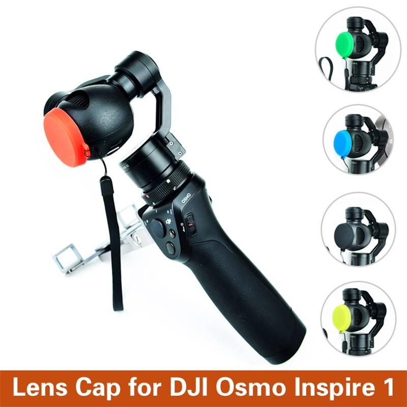 Protect Accessories Lens Cap Quick Release Mount Remote Control Silicone Protective Cover Camera lens For DJI Osmo/ Inspire 1