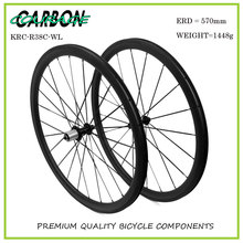 Buy Clincher Bicycle Wheelsets Full Carbon Matt 700C Road Bike Wheelsets 38mm Clincher wheel r13 hub for $446.00 in AliExpress store