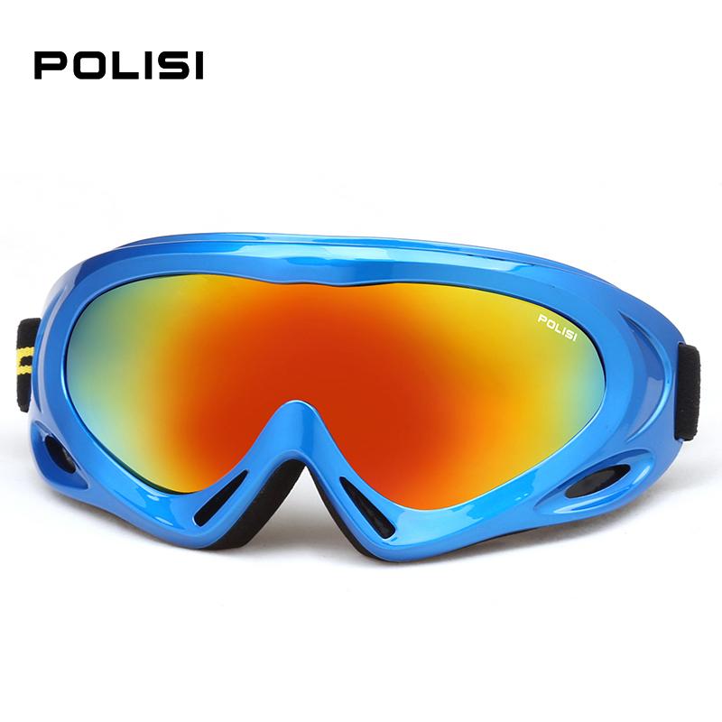 New 2016 POLISI Children Kids Sports Snowmobile Glasses Ski Outdoor Motorcycle Eyewear Snowboard Skate Sled Goggles Glasses(China (Mainland))