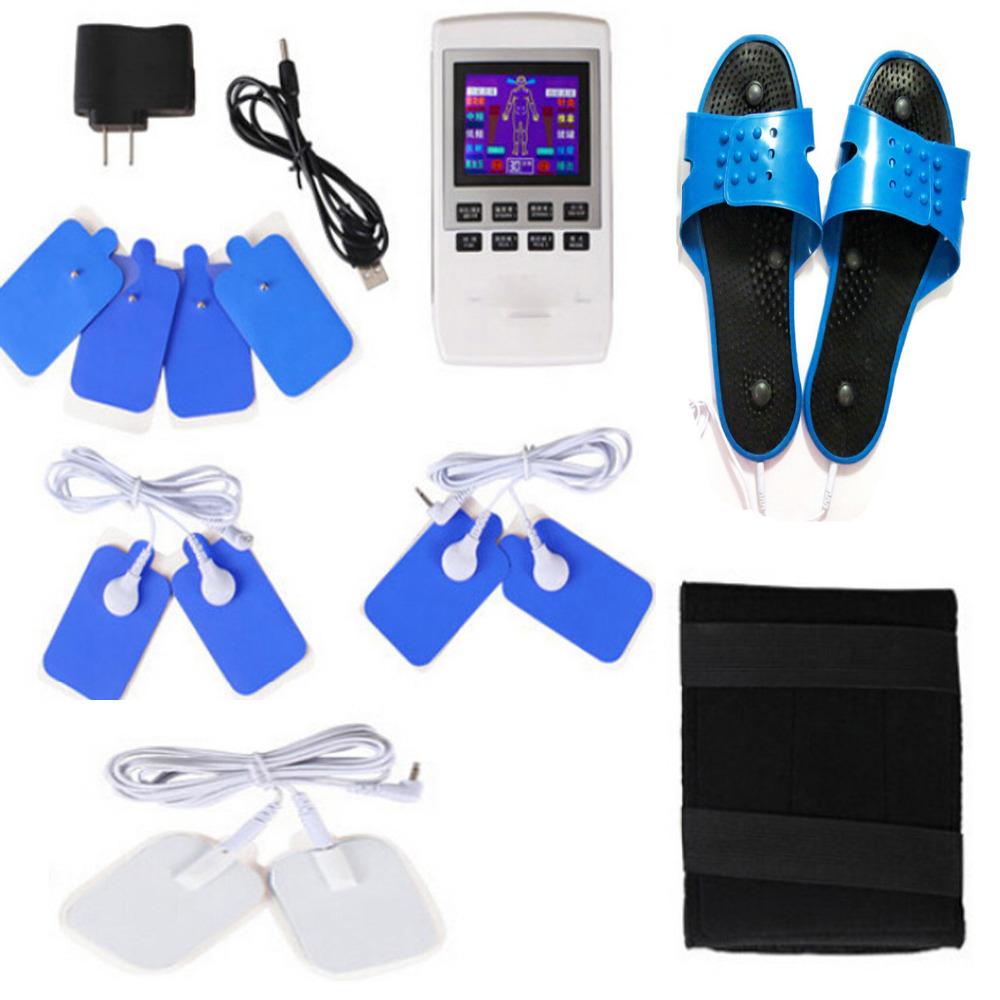 Electronic Pulse Massager Portable Handheld TENS Unit Muscle Stimulator for Pain Management shoulders Neck Back Waist Legs(China (Mainland))