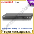 ds 7604ni e1 4p 4ch poe nvr 4ch POE Ports Original English ONVIF network Video Recorder