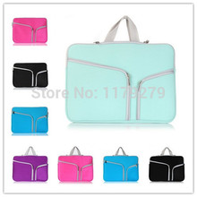 2016 Zipper Sleeve Bag Cover Case for apple Macbook Pro11 13 15 retina for macbook air 13 11 Laptop Carry Sleeve Bag Case Cover
